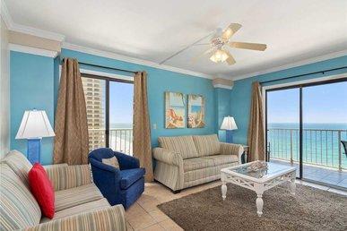 Summit 1432, 2 Bedrooms, Beachfront, Pool Access, Sleeps 8