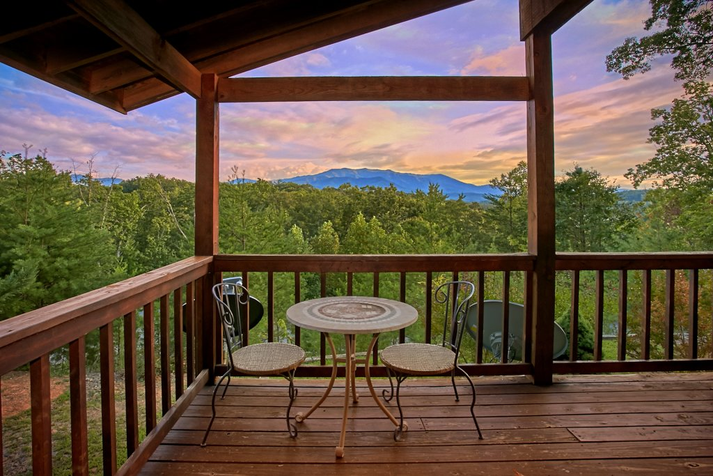 Photo of a Gatlinburg Cabin named Hawks Vue - This is the fourth photo in the set.
