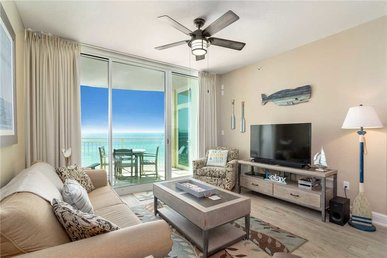 Aqua 607,  2 Bedrooms, Wi-fi, Beachfront, Beach Chairs, Sleeps 7