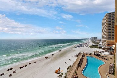 Treasure Island 605, Beach Chairs, 2 Bedrooms, Sleeps 8, Beachfront, Pool