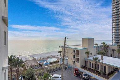 Sterling Breeze 407a, 2 Bedroom, Sleeps 6, Wi-fi, Pool, Beachfront
