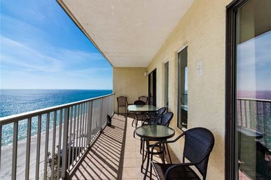 Summit 1506, 3 Bedrooms, Beachfront, Wi-fi, Penthouse, Pool, Sleeps 12