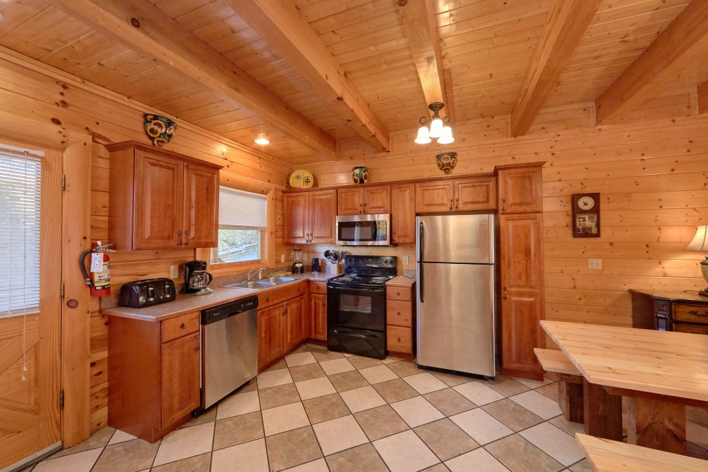 Photo of a Sevierville Cabin named Home Theater Lodge - This is the thirteenth photo in the set.