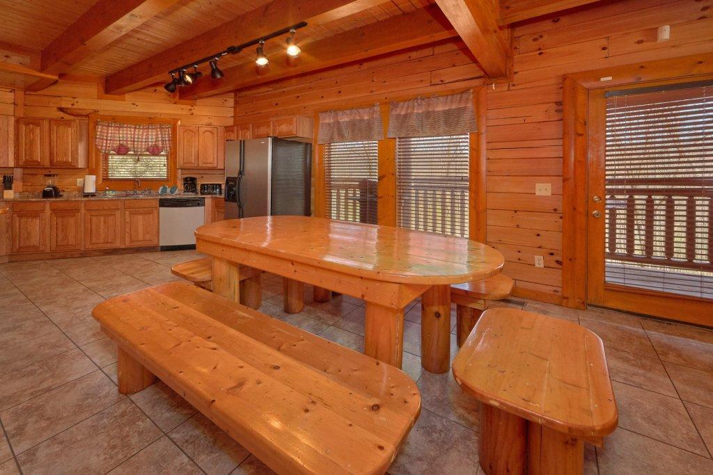 Photo of a Gatlinburg Cabin named Indoor Pool Beauty - This is the sixth photo in the set.