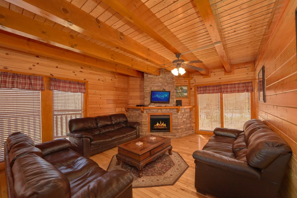 Photo of a Gatlinburg Cabin named Indoor Pool Beauty - This is the fifth photo in the set.