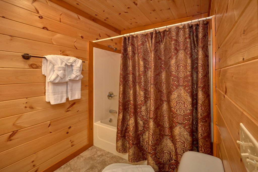 Photo of a Gatlinburg Cabin named Indoor Pool Beauty - This is the sixteenth photo in the set.