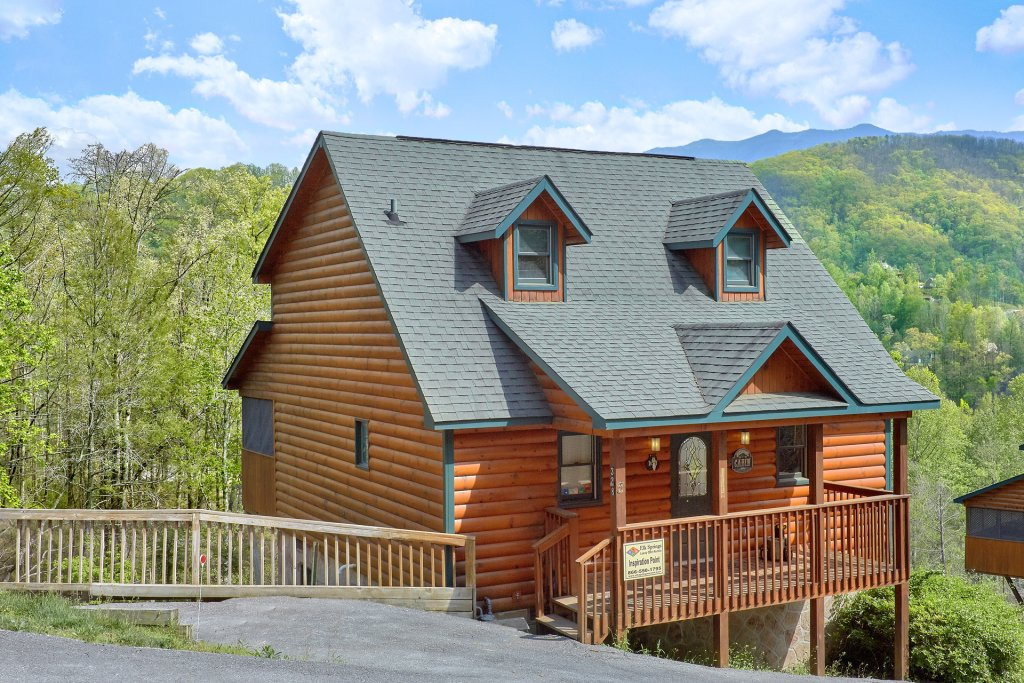 Photo of a Gatlinburg Cabin named Inspiration Point - This is the twenty-third photo in the set.
