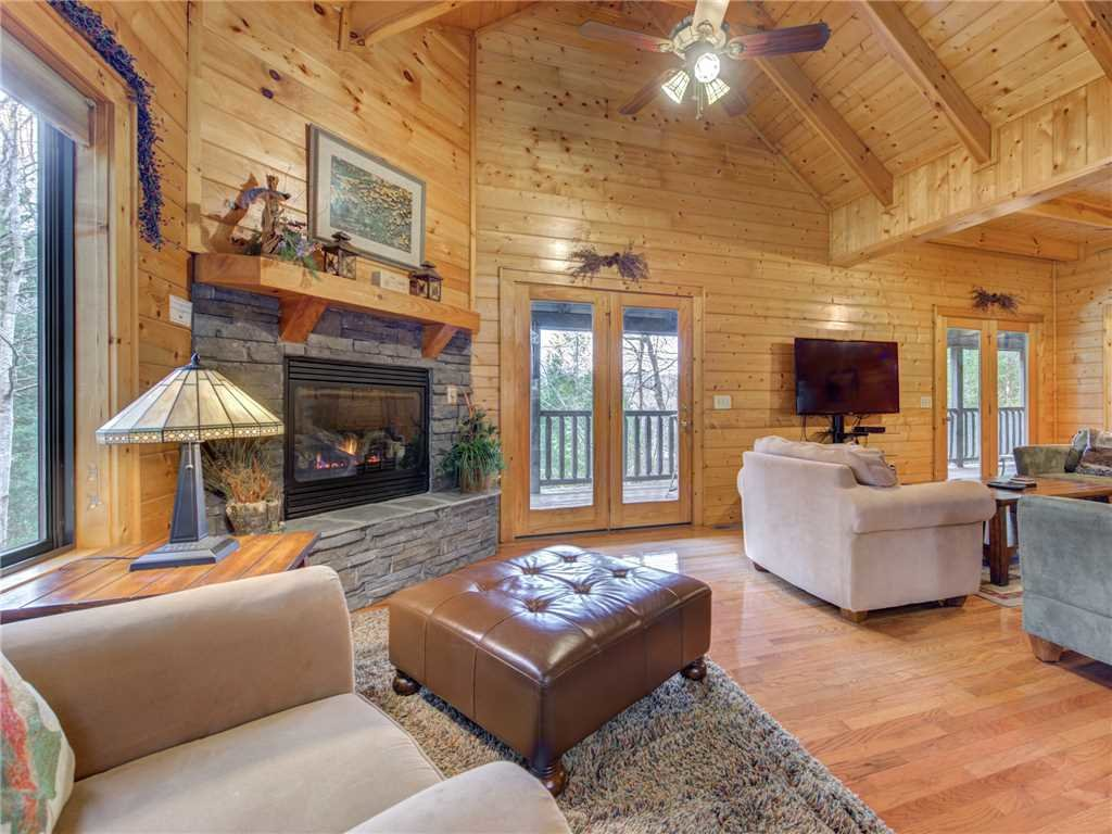 Photo of a Sevierville Cabin named Mountain Magic - This is the first photo in the set.