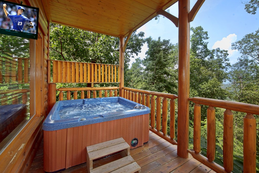 Photo of a Pigeon Forge Cabin named Misty Ridge #68 - This is the second photo in the set.