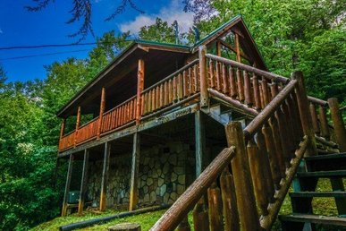 1 Bedroom, 1 Bath, Pet-friendly Cabin For 4 In A Semisecluded Resort Setting.