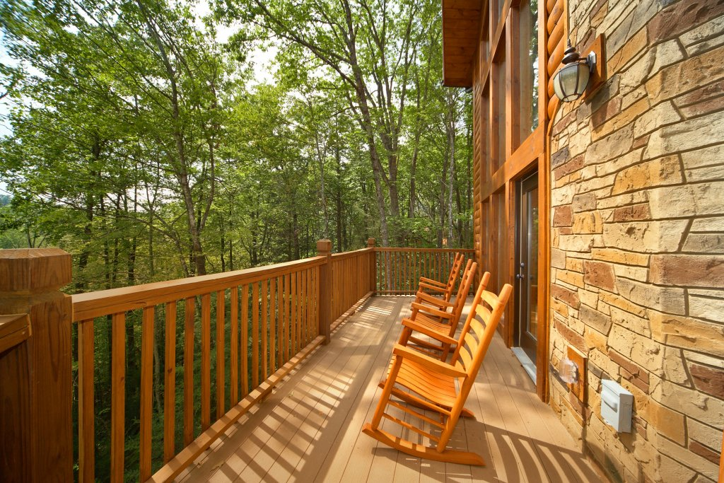 Photo of a Gatlinburg Cabin named Snuggled Inn - This is the third photo in the set.