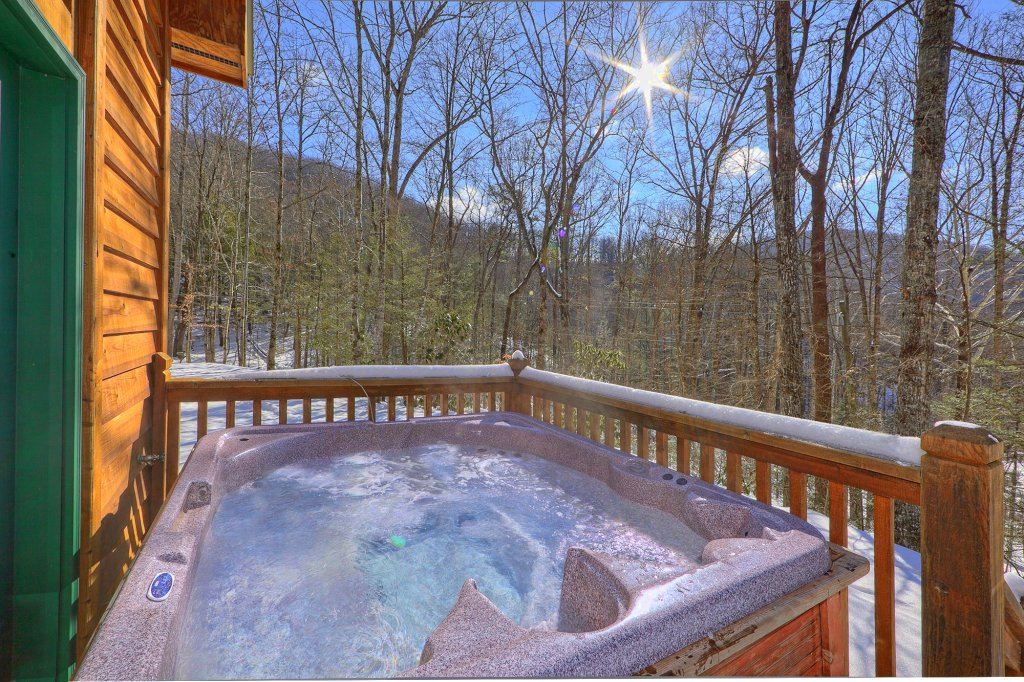 Photo of a Gatlinburg Cabin named Smoky Mountain Romance - This is the third photo in the set.