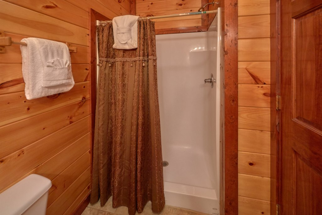Photo of a Gatlinburg Cabin named Pool Movie 1 - This is the twentieth photo in the set.