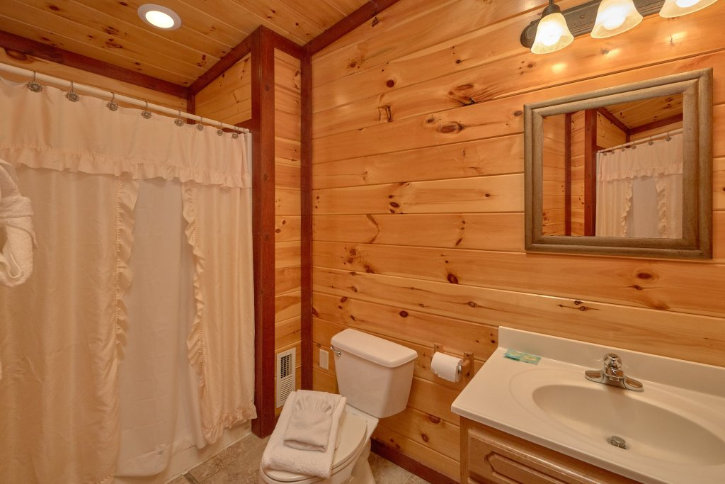 Photo of a Gatlinburg Cabin named Pool Movie 1 - This is the fourteenth photo in the set.
