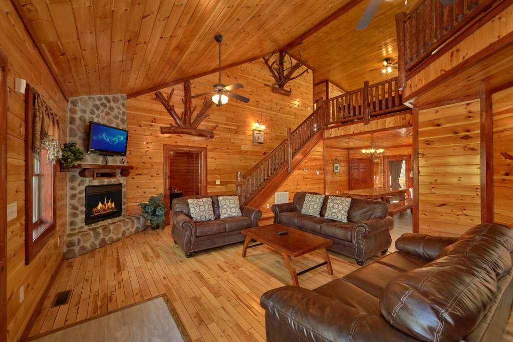 Photo of a Gatlinburg Cabin named Pool Movie 1 - This is the seventh photo in the set.