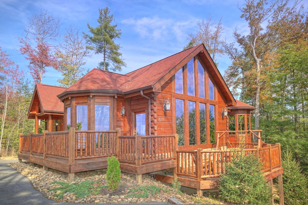 Photo of a Sevierville Cabin named Tranquility - This is the twentieth photo in the set.