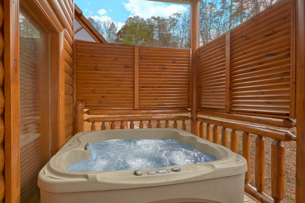 Photo of a Sevierville Cabin named Pool And Theater Lodge - This is the third photo in the set.