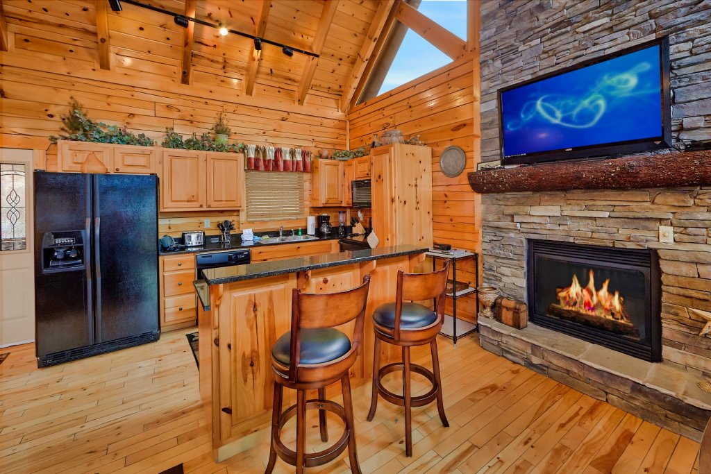 Photo of a Gatlinburg Cabin named Smoky Ridge View - This is the twenty-first photo in the set.