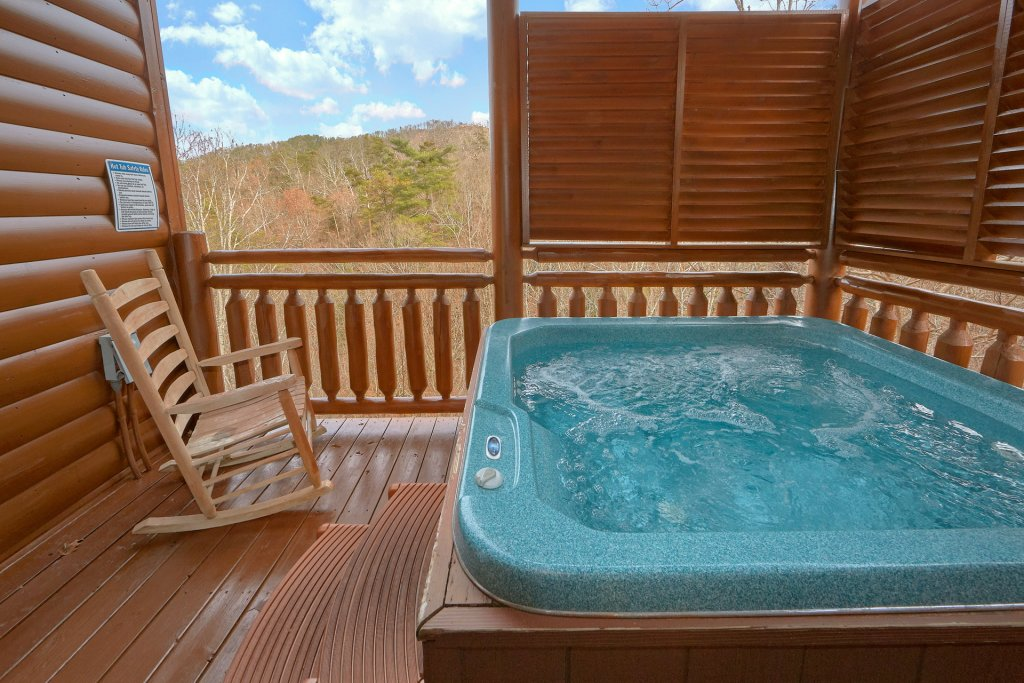 Photo of a Sevierville Cabin named Movie Room Retreat - This is the third photo in the set.