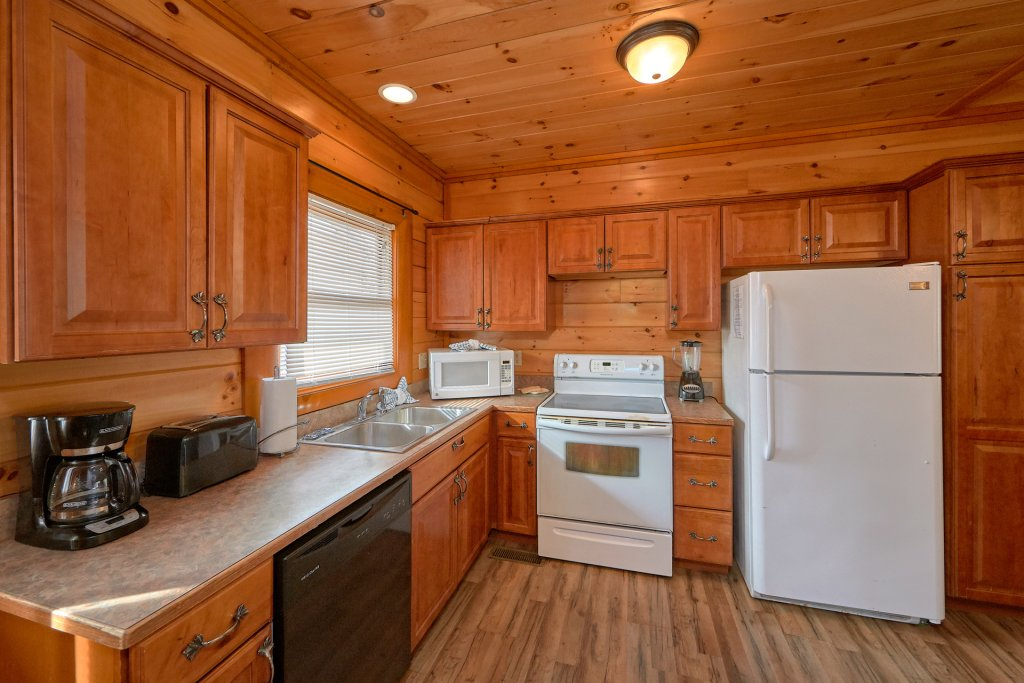 Photo of a Sevierville Cabin named Movie Room Retreat - This is the thirteenth photo in the set.