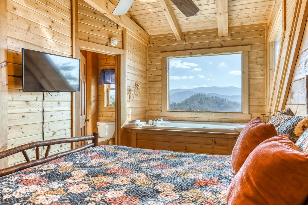 Photo of a Pigeon Forge Cabin named Outlook Ridge - This is the first photo in the set.
