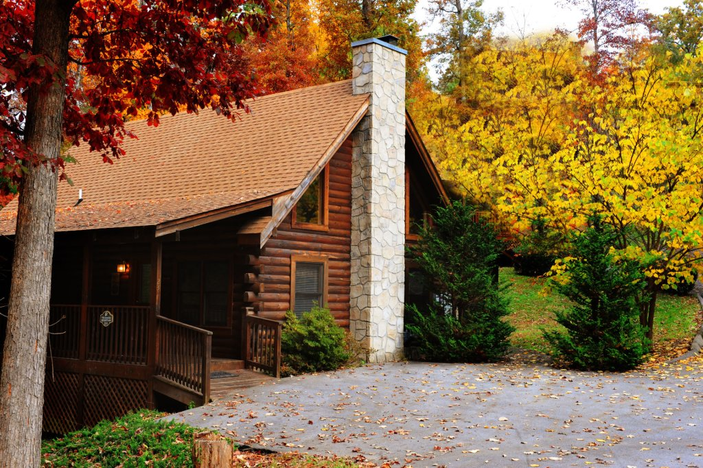 Photo of a Pigeon Forge Cabin named  Treasure Mountain - This is the nine hundred and seventy-second photo in the set.