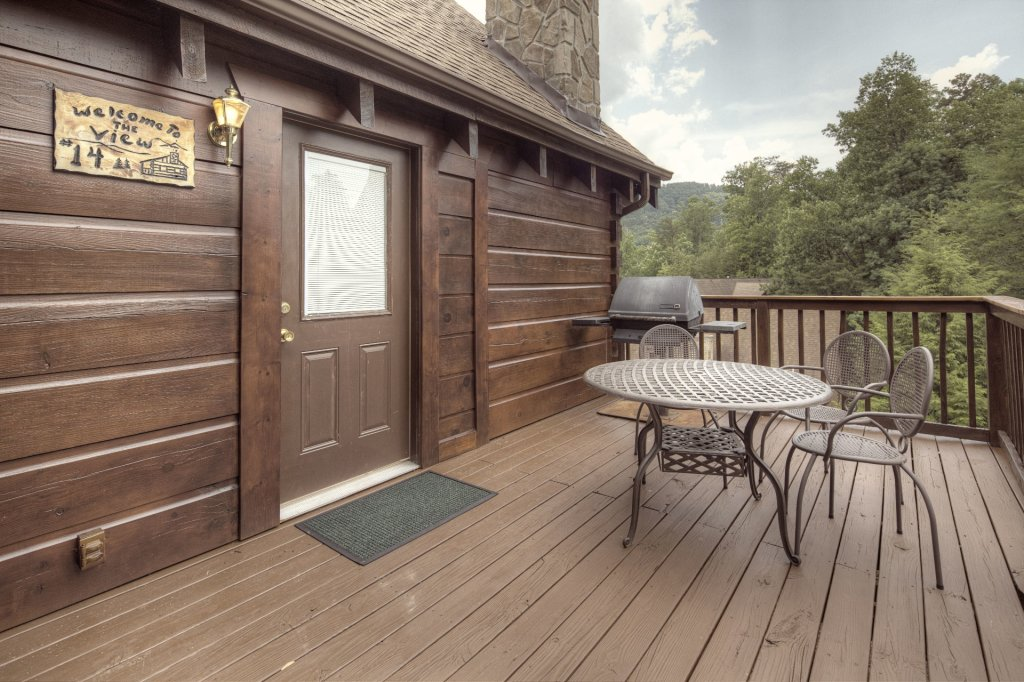 Photo of a Pigeon Forge Cabin named  The View - This is the one thousand and fifty-second photo in the set.