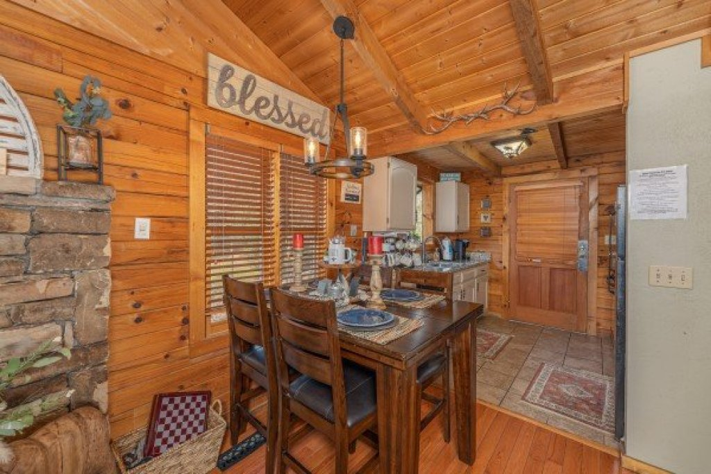 Photo of a Sevierville Cabin named Snuggle Inn - This is the fourth photo in the set.