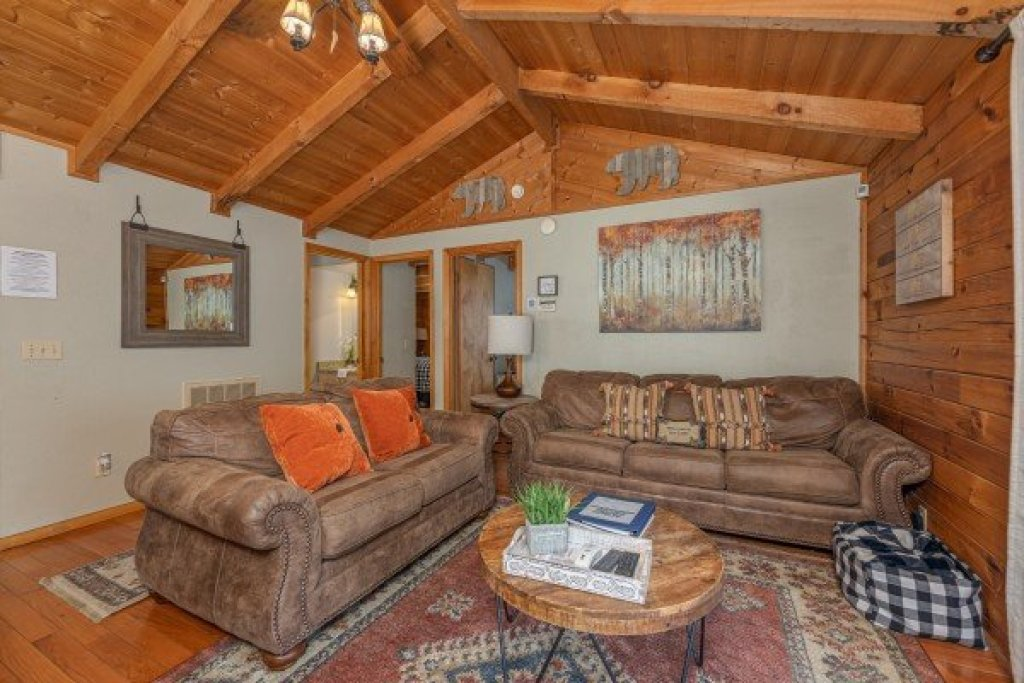 Photo of a Sevierville Cabin named Snuggle Inn - This is the third photo in the set.