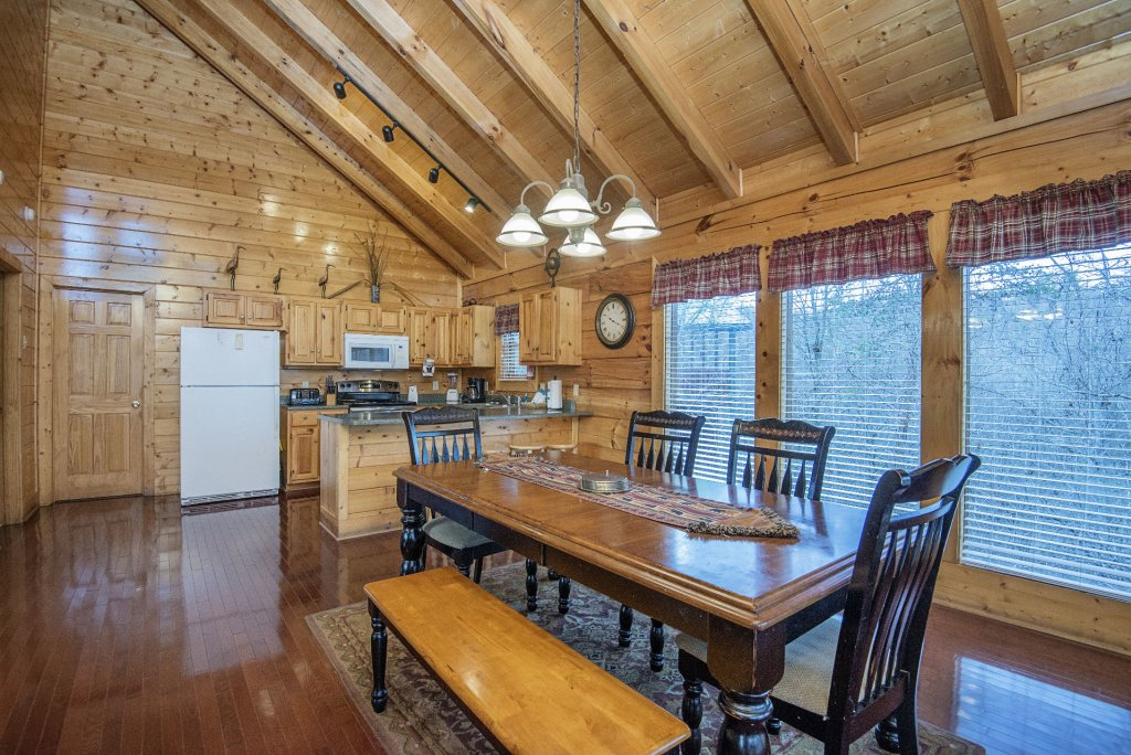 Photo of a Sevierville Cabin named  Almost Paradise - This is the five hundred and thirty-second photo in the set.