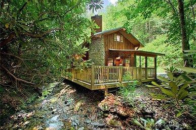 Cottage On The Creek, 1 Br, 1 Loft, Hot Tub, Sleeps 4