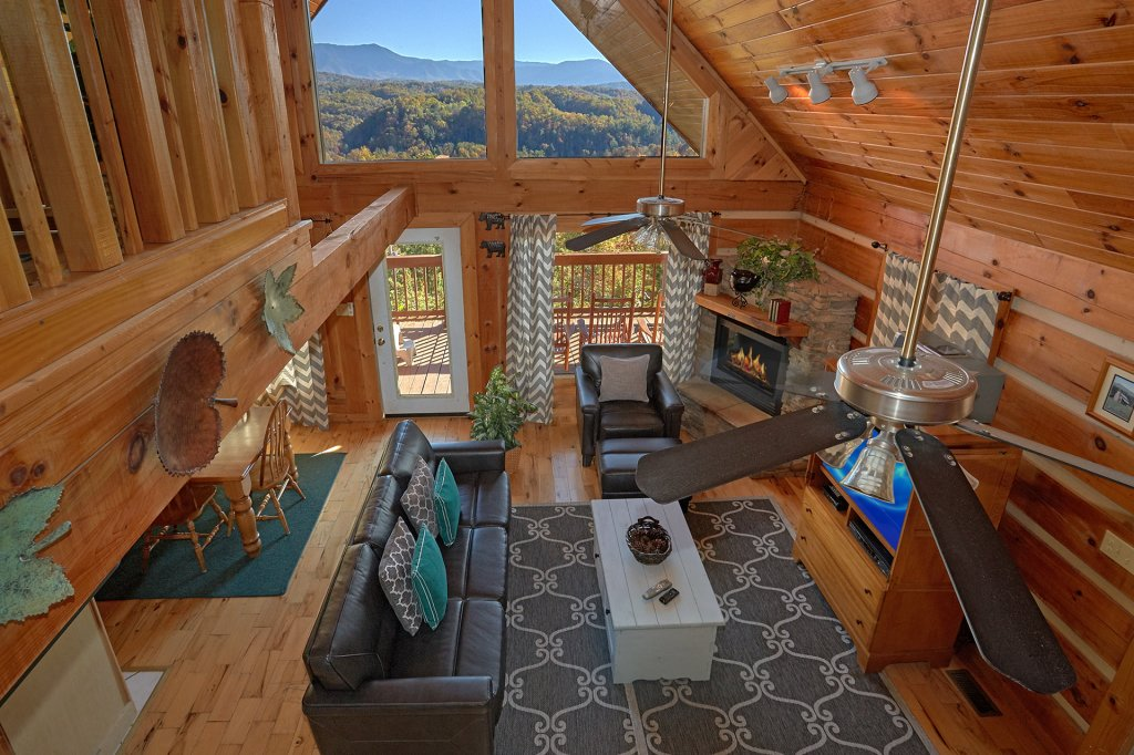 Photo of a Pigeon Forge Cabin named A Smokin View #1844 - This is the seventh photo in the set.