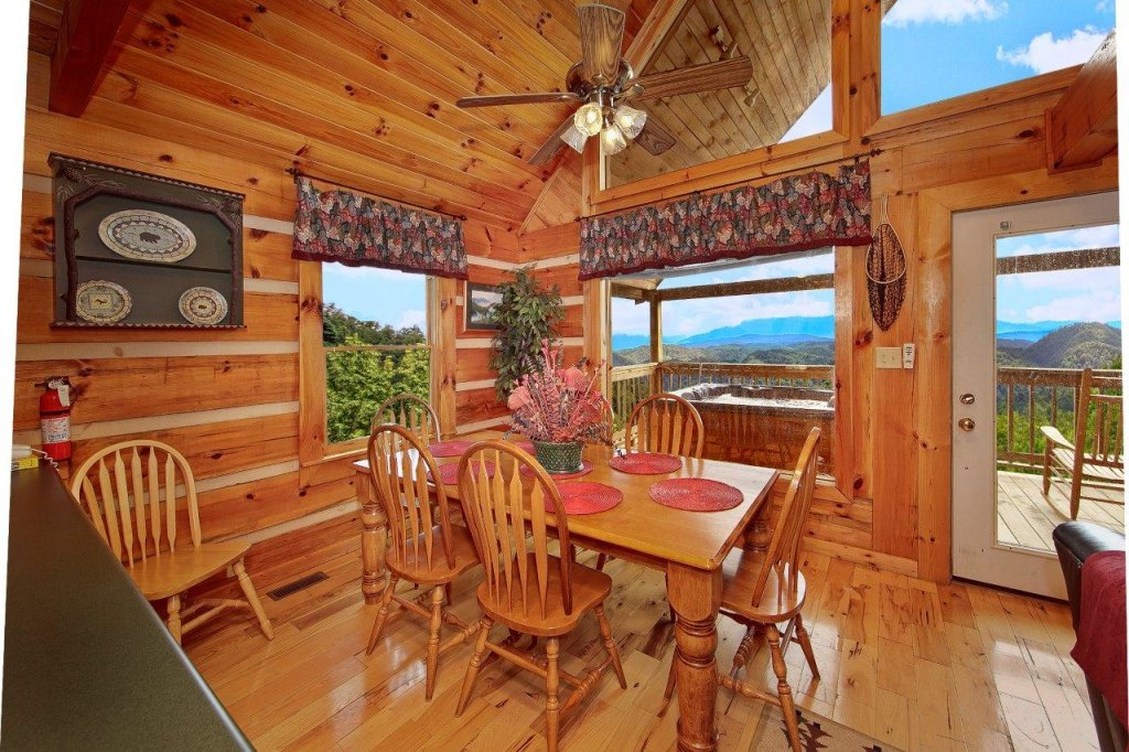 Photo of a Pigeon Forge Cabin named A Smokin View #1844 - This is the thirty-sixth photo in the set.