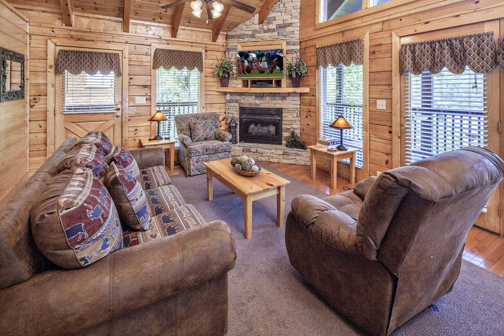 Photo of a Sevierville Cabin named  Absolute Paradise - This is the one hundred and eighty-sixth photo in the set.