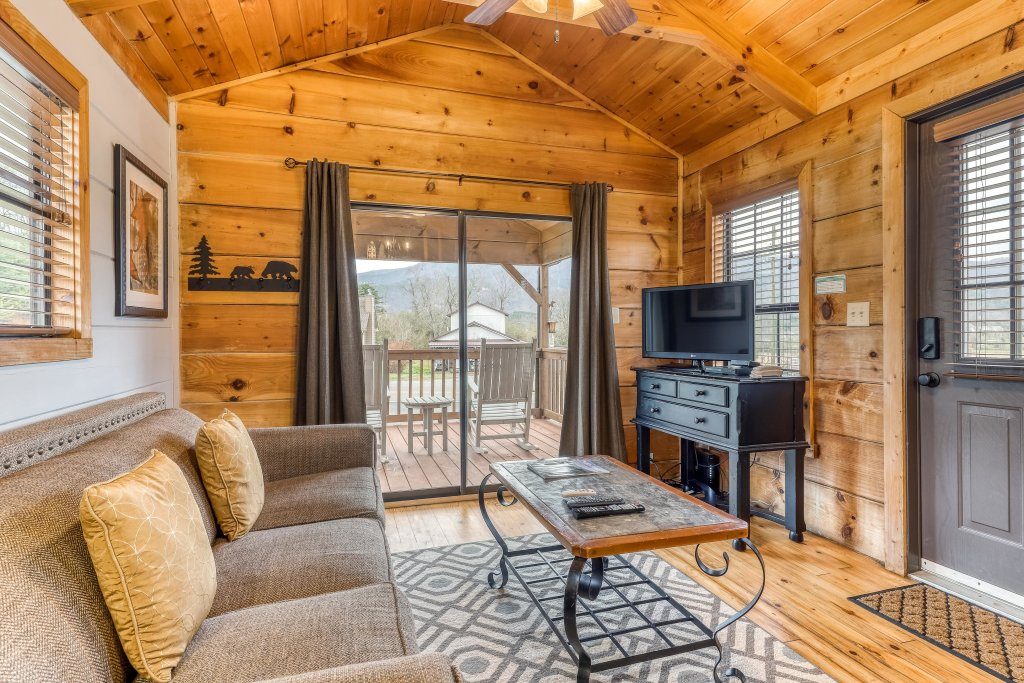 Photo of a Sevierville Cabin named Calvery Cabin - This is the first photo in the set.