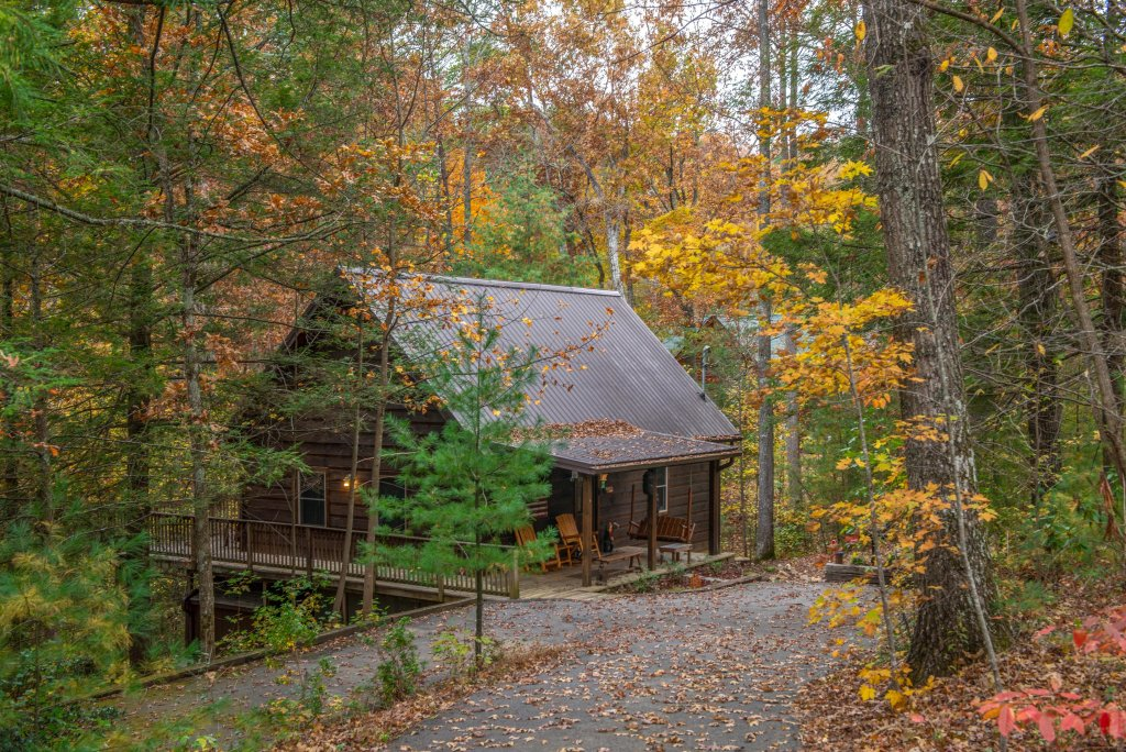 Photo of a Sevierville Cabin named Calvery Cabin - This is the twenty-first photo in the set.