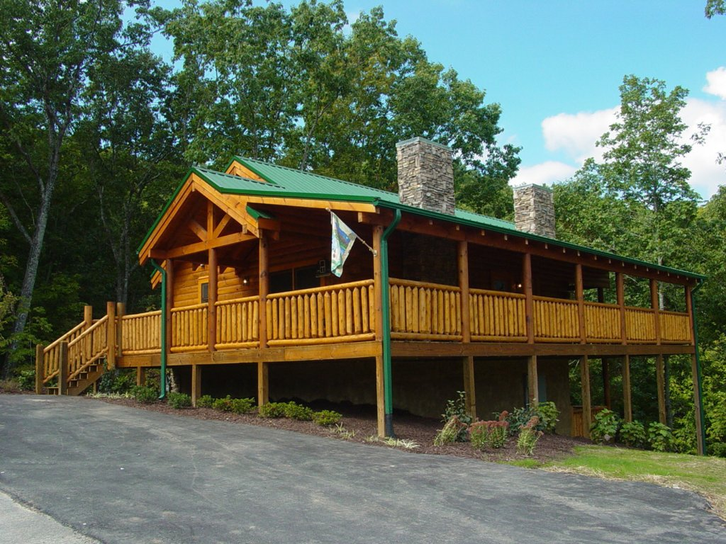 Photo of a Sevierville Cabin named  Cozy Cabin - This is the third photo in the set.