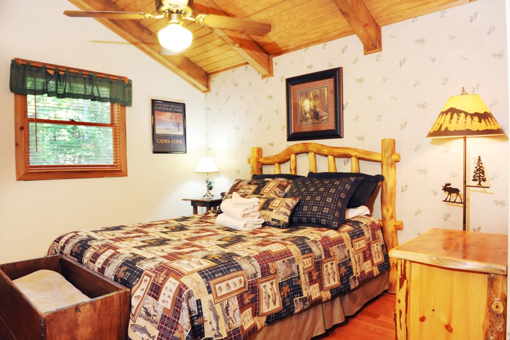 Photo of a Pigeon Forge Cabin named The Loon's Nest (formerly C.o.24) - This is the five hundred and seventy-fifth photo in the set.
