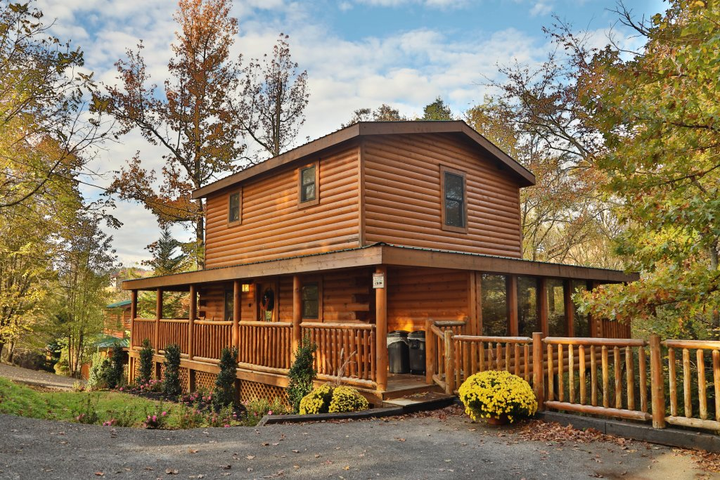 Photo of a Pigeon Forge Cabin named Skinny Dippin' #261 - This is the second photo in the set.