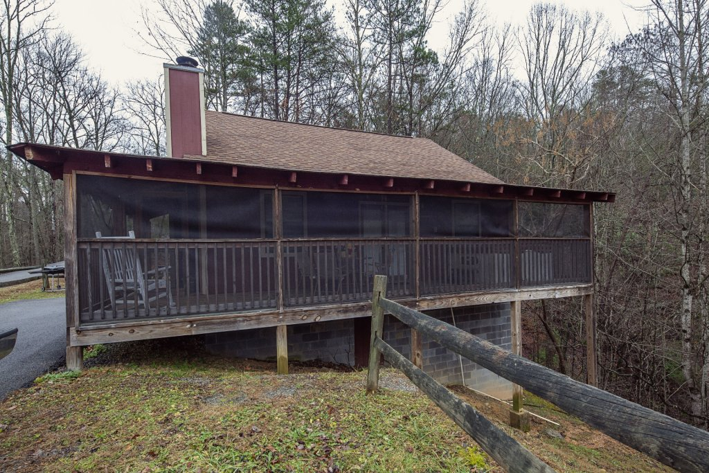 Photo of a Pigeon Forge Cabin named Natures View - This is the one thousand five hundred and eighth photo in the set.