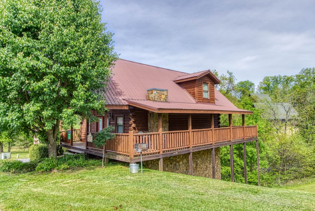 Photo of a Pigeon Forge Cabin named Amazing Grace #264 - This is the fortieth photo in the set.