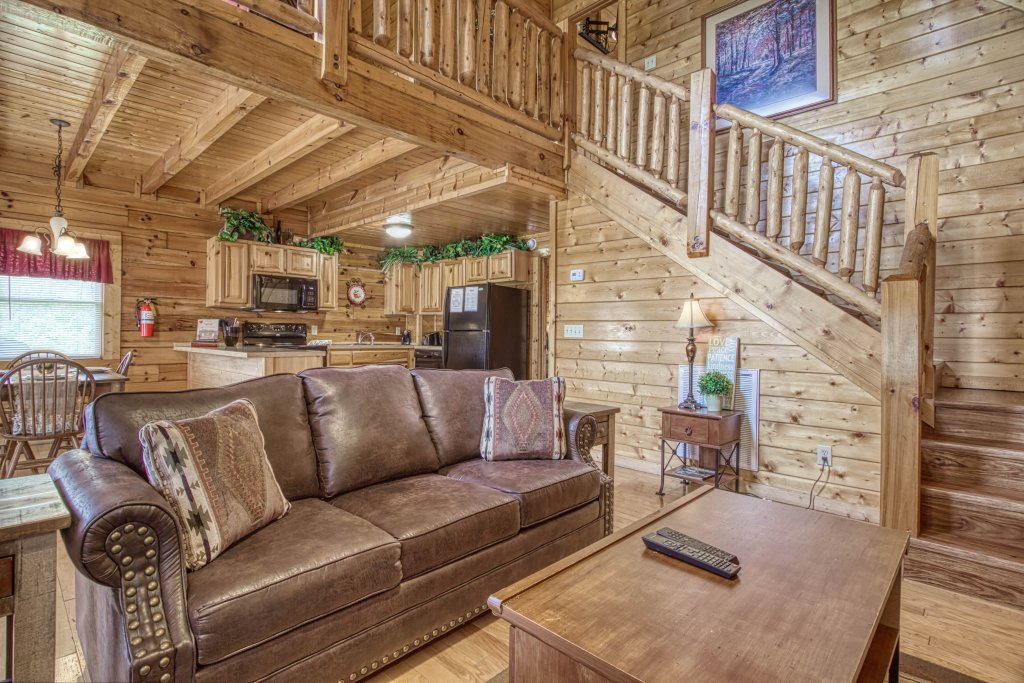 Photo of a Pigeon Forge Cabin named Amazing Grace #264 - This is the third photo in the set.