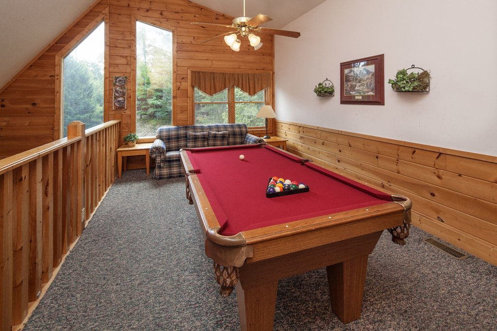 Photo of a Pigeon Forge Cabin named  Black Bear Hideaway - This is the one thousandth photo in the set.