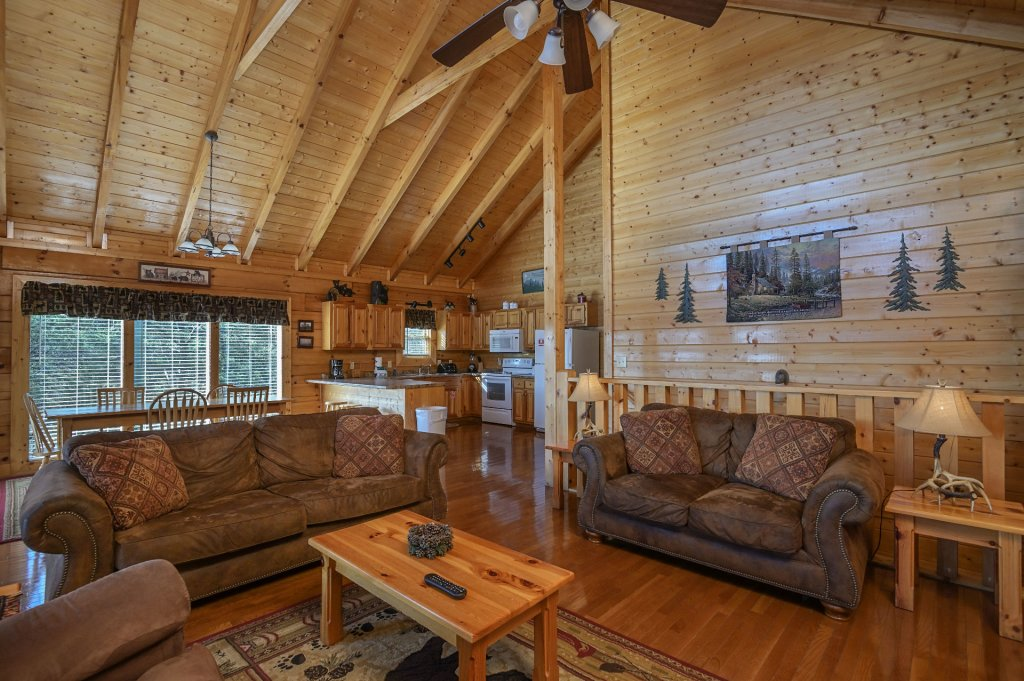 Photo of a Sevierville Cabin named Hillside Retreat - This is the one hundred and eighty-third photo in the set.
