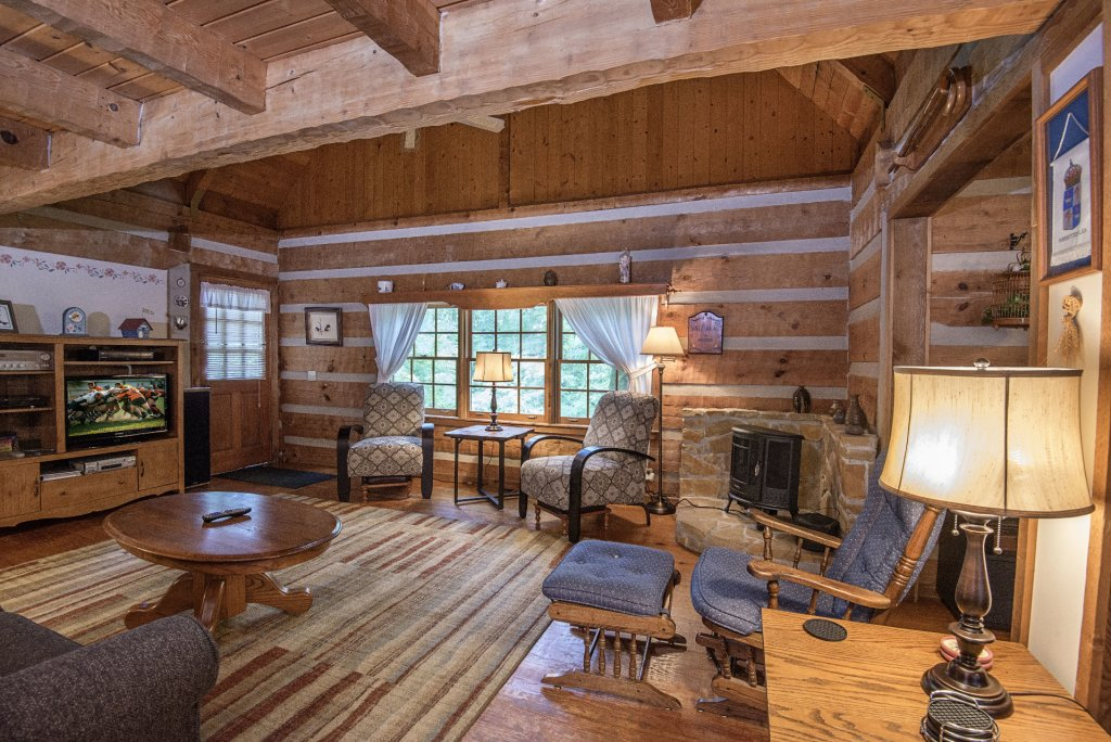 Photo of a Pigeon Forge Cabin named Valhalla - This is the one thousand five hundred and seventy-second photo in the set.