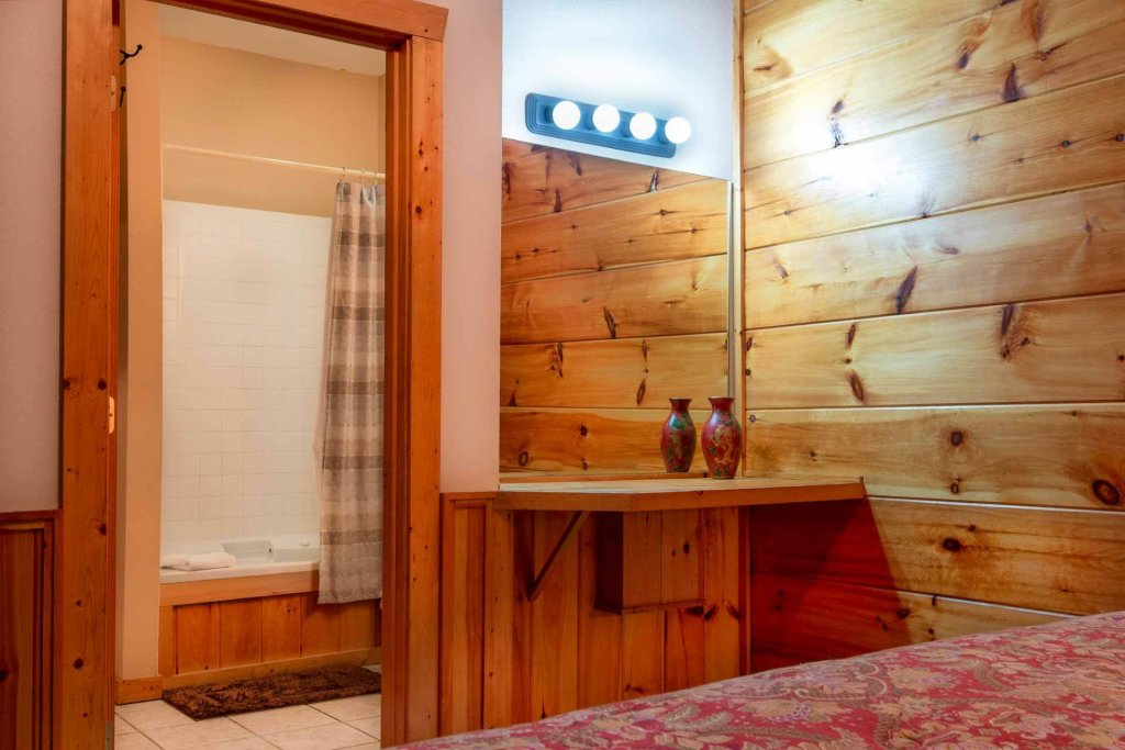 Photo of a Pigeon Forge Cabin named 839a Golf View Cabins Rockin' Robin - This is the twenty-second photo in the set.