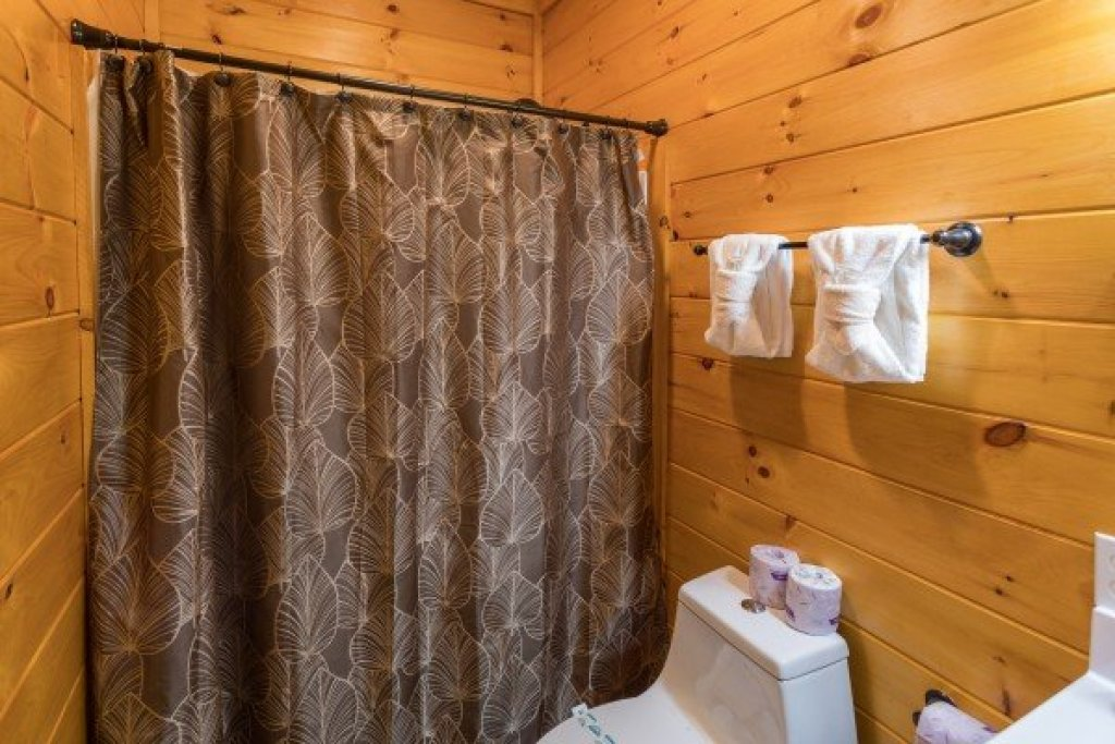 Photo of a Sevierville Cabin named Four Seasons Palace - This is the fiftieth photo in the set.