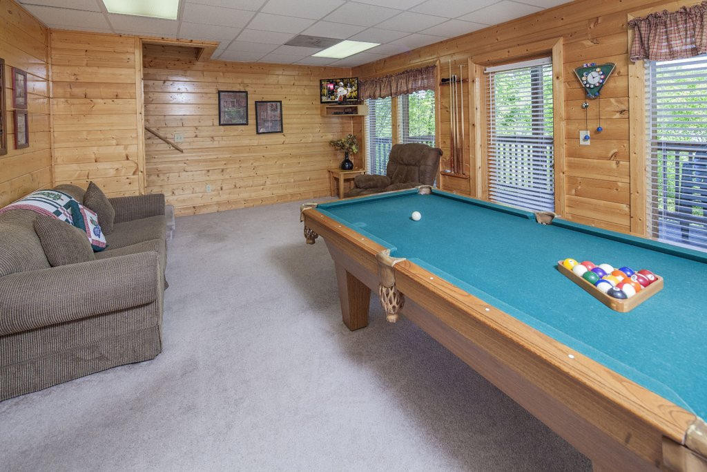 Photo of a Sevierville Cabin named  Absolute Paradise - This is the five hundred and first photo in the set.