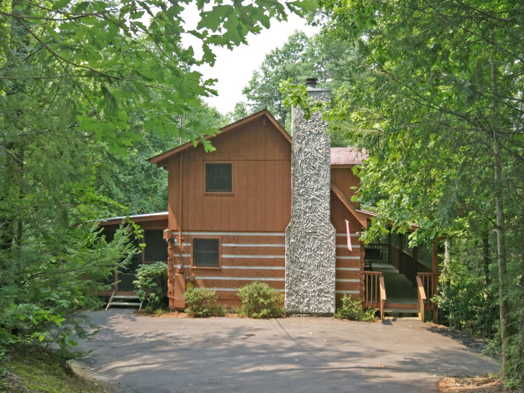 Photo of a Pigeon Forge Cabin named The Loon's Nest (formerly C.o.24) - This is the first photo in the set.