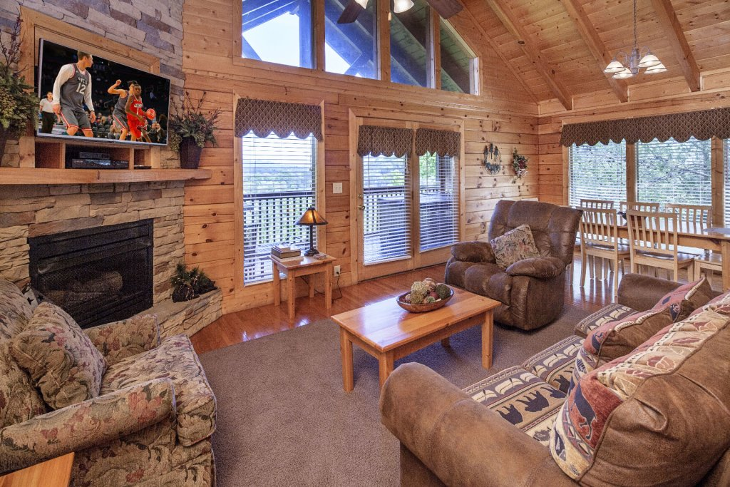 Photo of a Sevierville Cabin named  Absolute Paradise - This is the one hundred and twelfth photo in the set.